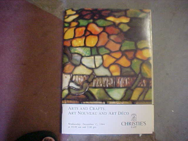 Christie 39 s arts and crafts art nouveau and art deco for Arts and crafts new york