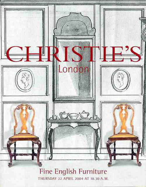 2004 christie 39 s london fine english furniture 4 22 04 for Furniture auctions london