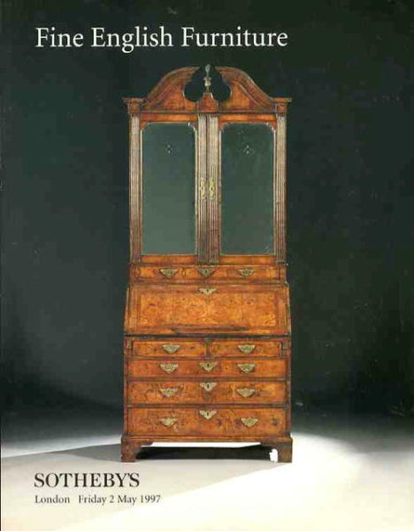 English furniture auction catalogs home of the catalog for Furniture auctions london