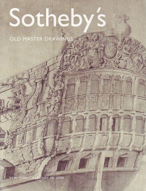 Sotheby's - Old Master Drawings and Paintings - April 30 1958