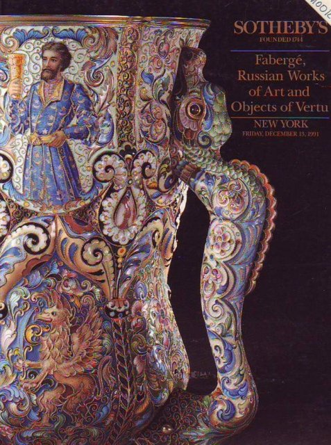 Russian Art New York 12 April 2011 Catalogue