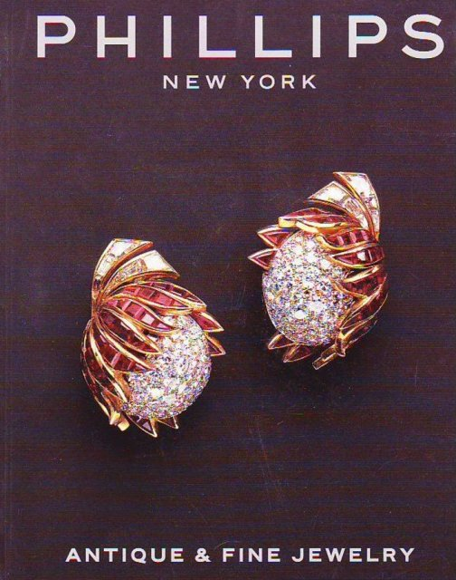 Phillips antique and fine jewelry new york 12 10 00 sale for Antique jewelry stores nyc