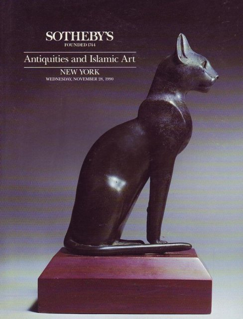 Sotheby's Antiquities and Islamic Art New York 12/17/96