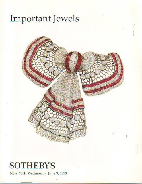 sothebys important jewels new york 6999 sale 7324
