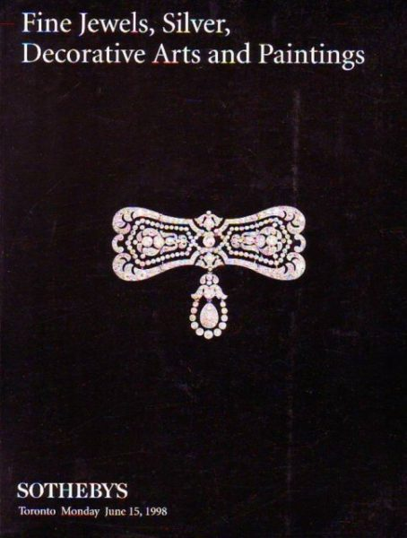 Sotheby S Fine Jewels Silver Decorative Art And Paintings Toronto 6 15 98 7125