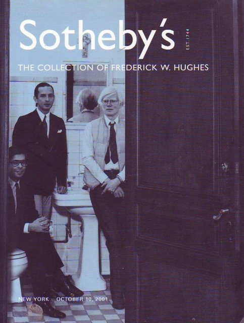 sothebys ten paintings by andy warhol from the collection of frederick w hughes