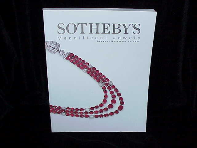 IH Sotheby's MAGNIFICENT JEWELS, GENEVA, 11/15/00 SALE ...