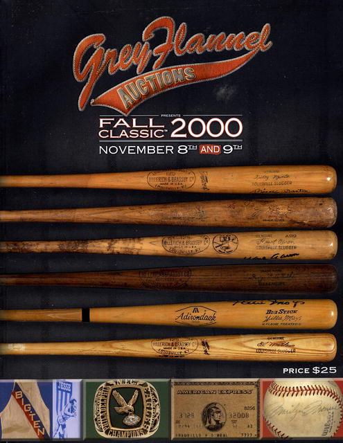 2000 grey flannel ny the fall classics 11 8 9 00 baseball for House classics 2000