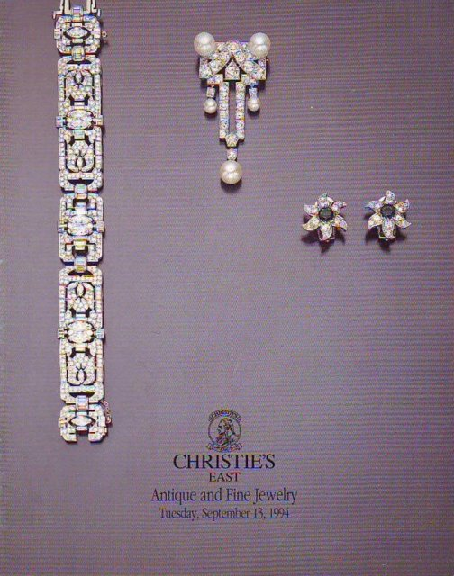 Christie 39 s east antique and fine jewelry new york 9 13 94 for Antique jewelry stores nyc