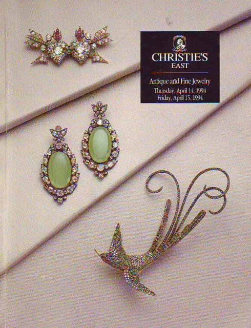 Ih christie 39 s east antique and fine jewelry new york 4 14 for Antique jewelry stores nyc
