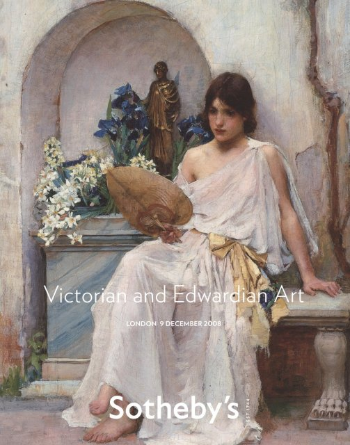 Sotheby 39 s victorian and edwardian art london 12 9 08 sale for Victorian home catalog