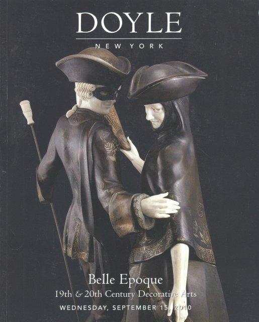 Doyle Belle Epoque Decorative Arts Auction Catalog June 2010