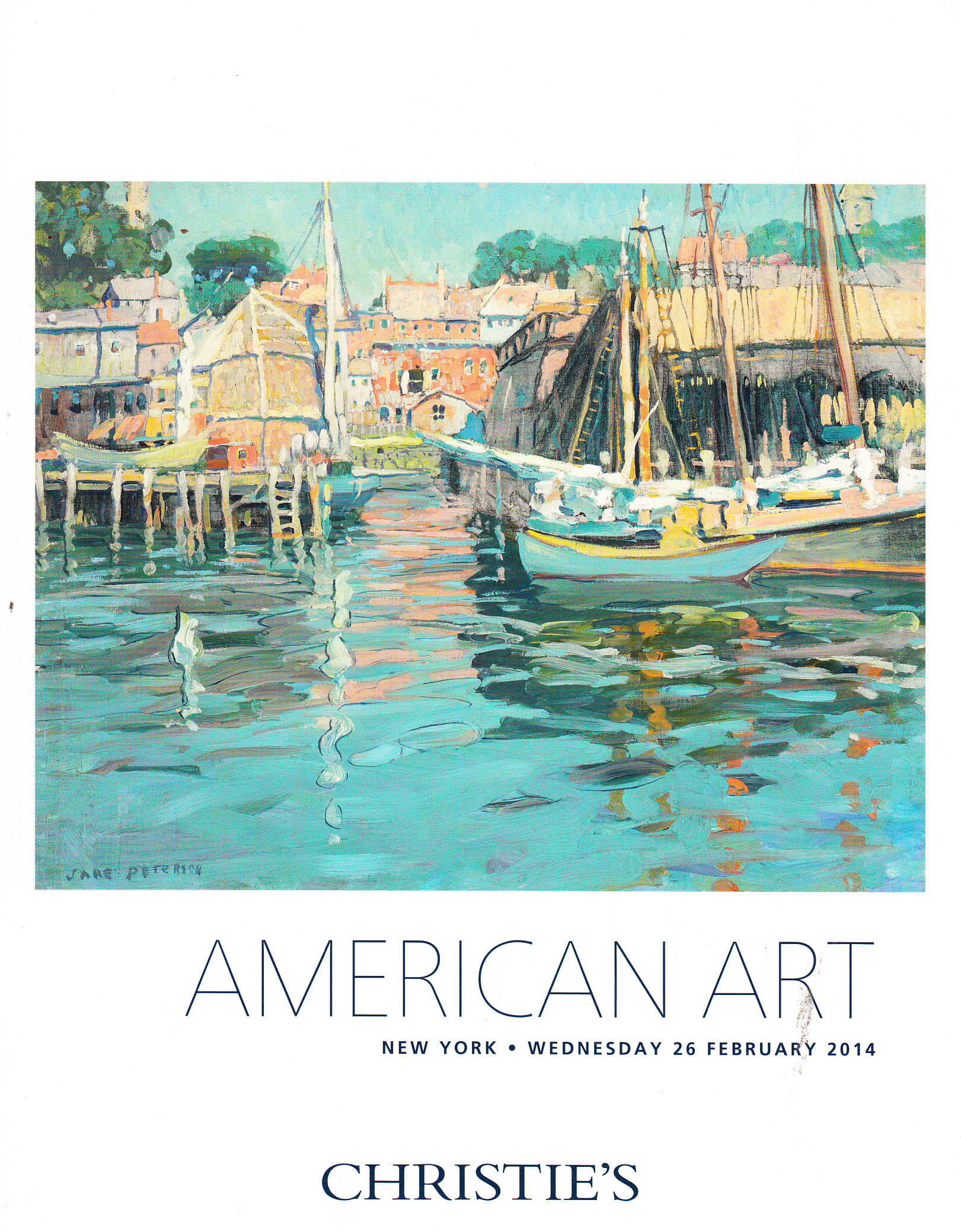 ih christie 39 s american art new york 2 26 14 sale 2822 auction catalogs home of the catalog kid. Black Bedroom Furniture Sets. Home Design Ideas