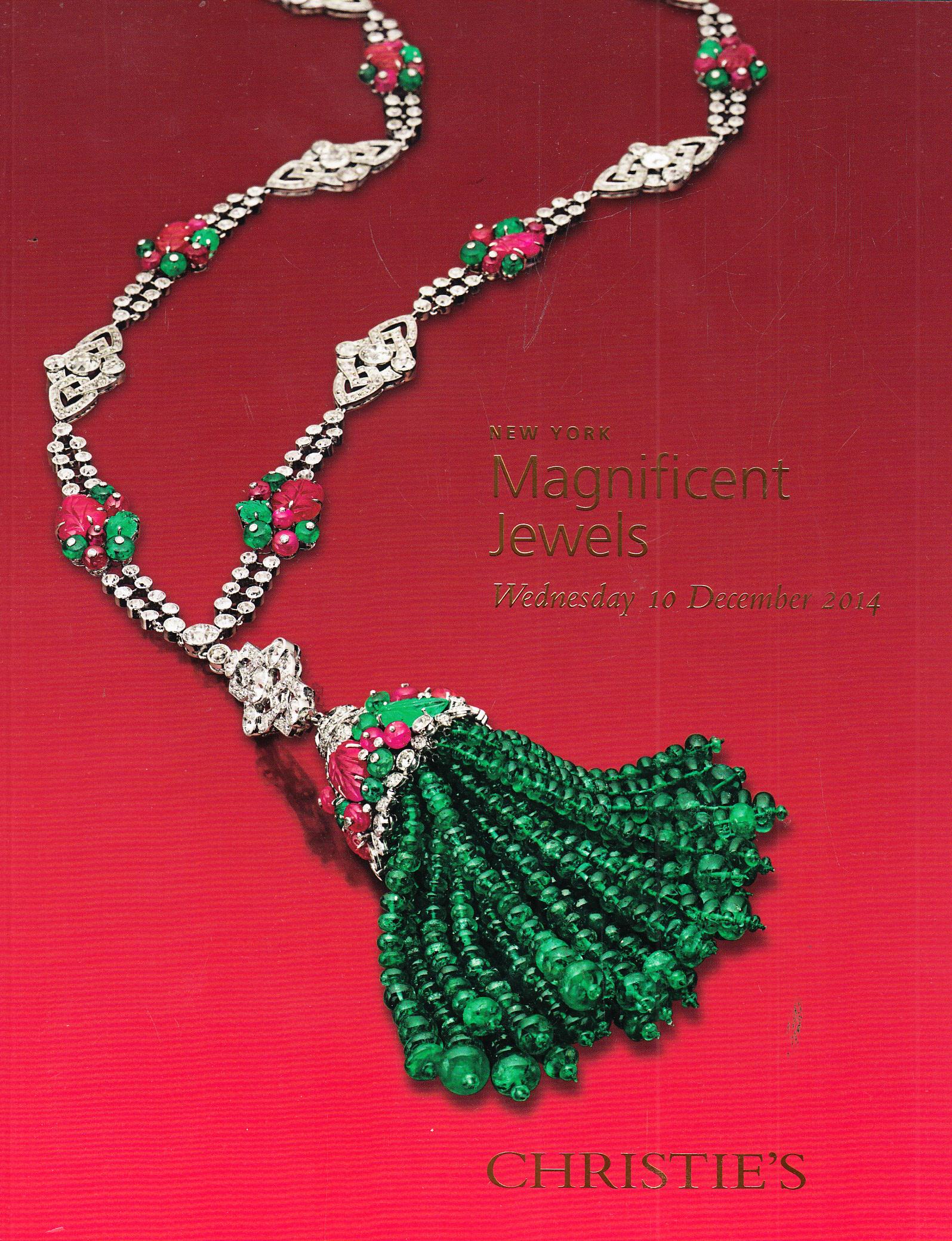 IH Christie's Magnificent Jewels New York 12/10/14 Sale ...