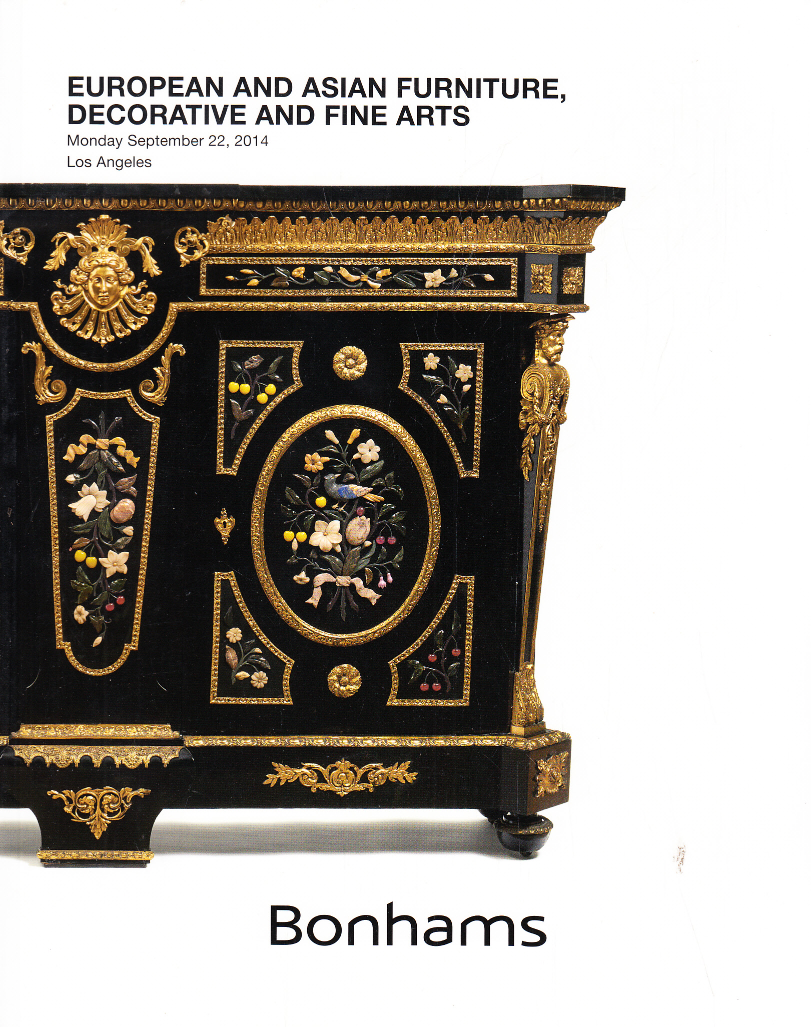 Bonhams european and asian furniture decorative and fine for Oriental furniture los angeles