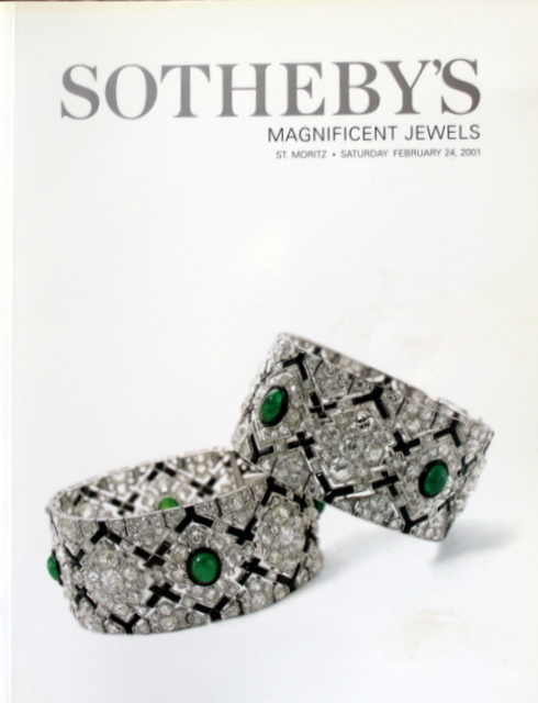 SO-AA Sotheby's Magnificent Jewels St. Moritz 2/24/01 Sale ...