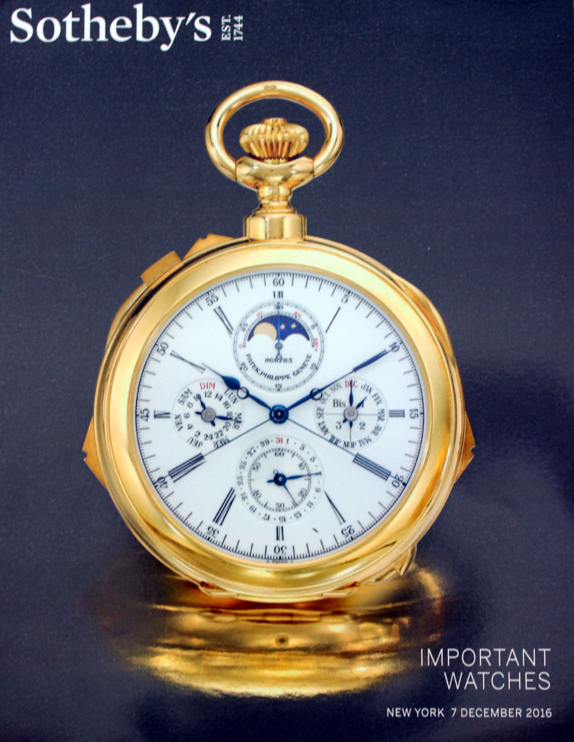 ih sothebys important watches new york 12716 sale code